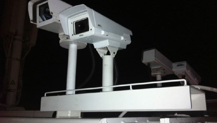 West gate Bridge Monitoring Camera Mount